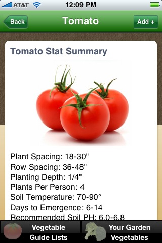 Vegetable garden guide iphone and android app for Vegetable garden planner app